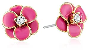 kate spade new york Flower Pink Stud Earrings