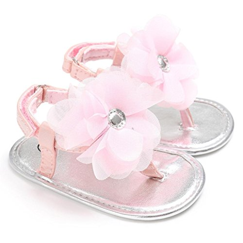 BZLine® Baby Blume Sandals Closed Sandals Summer Beach Sandalen Pink