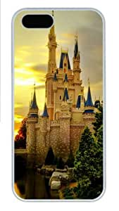 iPhone 5S Cases & Covers - Cinderella Castle Custom PC Hard Case Cover for iPhone 5/5S ¡§C White