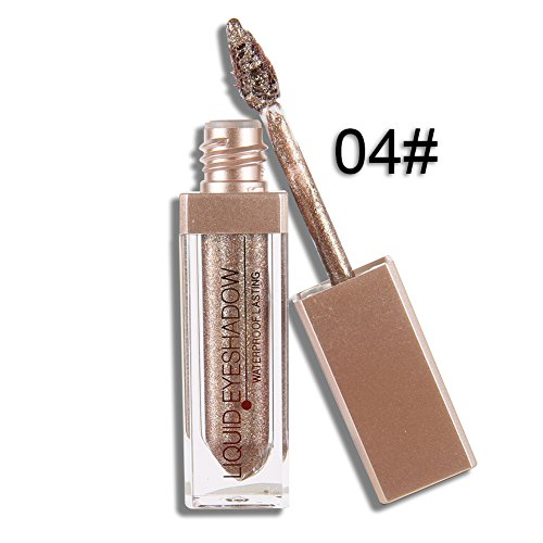 High Pigmented Spdoo Liquid Eyeshadow Metallic Glow - 12 Col
