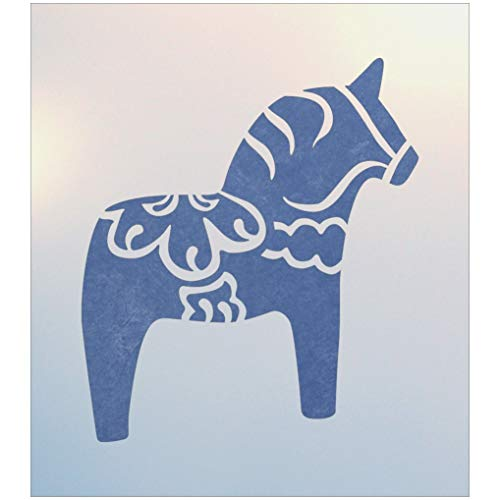 - Swedish Dala Horse Stencil - The Artful Stencil