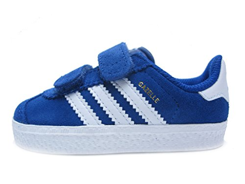 Gazelle 2 CF I Toddler in Royal/White by Adidas, 5
