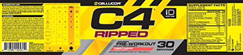 Cellucor, C4 Ripped Explosive Pre Workout Supplement and Cutting Formula