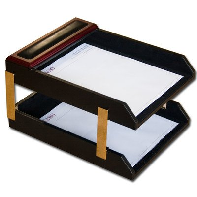 eather Double Letter Trays (A8020) ()