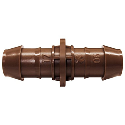 Rainbird XF Series Barbed Insert Fitting with Coupling, 17mm