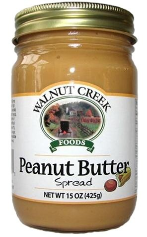 Amish Country Peanut Butter Spread 15 oz Marshmallow Creme & Peanut Butter
