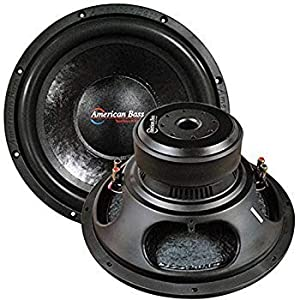 "American Bass Godfather GF1522 6000 Watt Max 15""400 oz Magnet 4"" Voice Coil Dual 2 ohm"