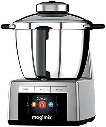 Magimix 18900 - Robot de cocina (Cromo, Acero inoxidable, Acero ...