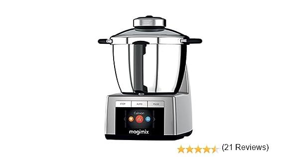 Magimix 18900 - Robot de cocina (Cromo, Acero inoxidable, Acero inoxidable): Amazon.es: Hogar