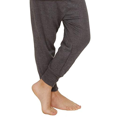 Octave 12 Pack Boys Thermal Underwear Long Johns/Pants/Long Underwear (3-5 yrs [Waist: 20.5 inches], Charcoal) by Octave