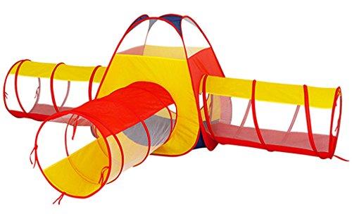 パスエスニックご注意TGG 幼稚園のテント、屋内と屋外のクロールバケツチャイルドテントの組み合わせ興味深い掘削穴玩具プレイグラウンド幼児教育訓練機器 持ち運びが簡単 (色 : A)