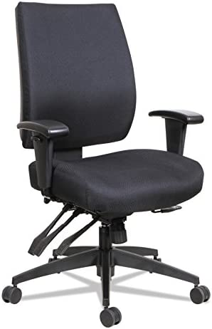 Alera ALE Wrigley Series High Performance Mid-Back Multifunction Task Chair