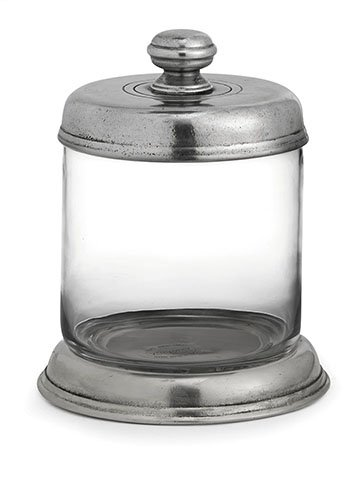 Tavola Small Glass Canister - Arte Italica