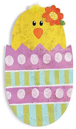 DEMDACO Easter Chick in Egg Door Hanger Screen Peri Woltjer