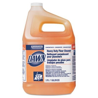 Dawn Heavy-Duty Floor Cleaner, Neutral Scent, 1gal Bottle, 3/Carton
