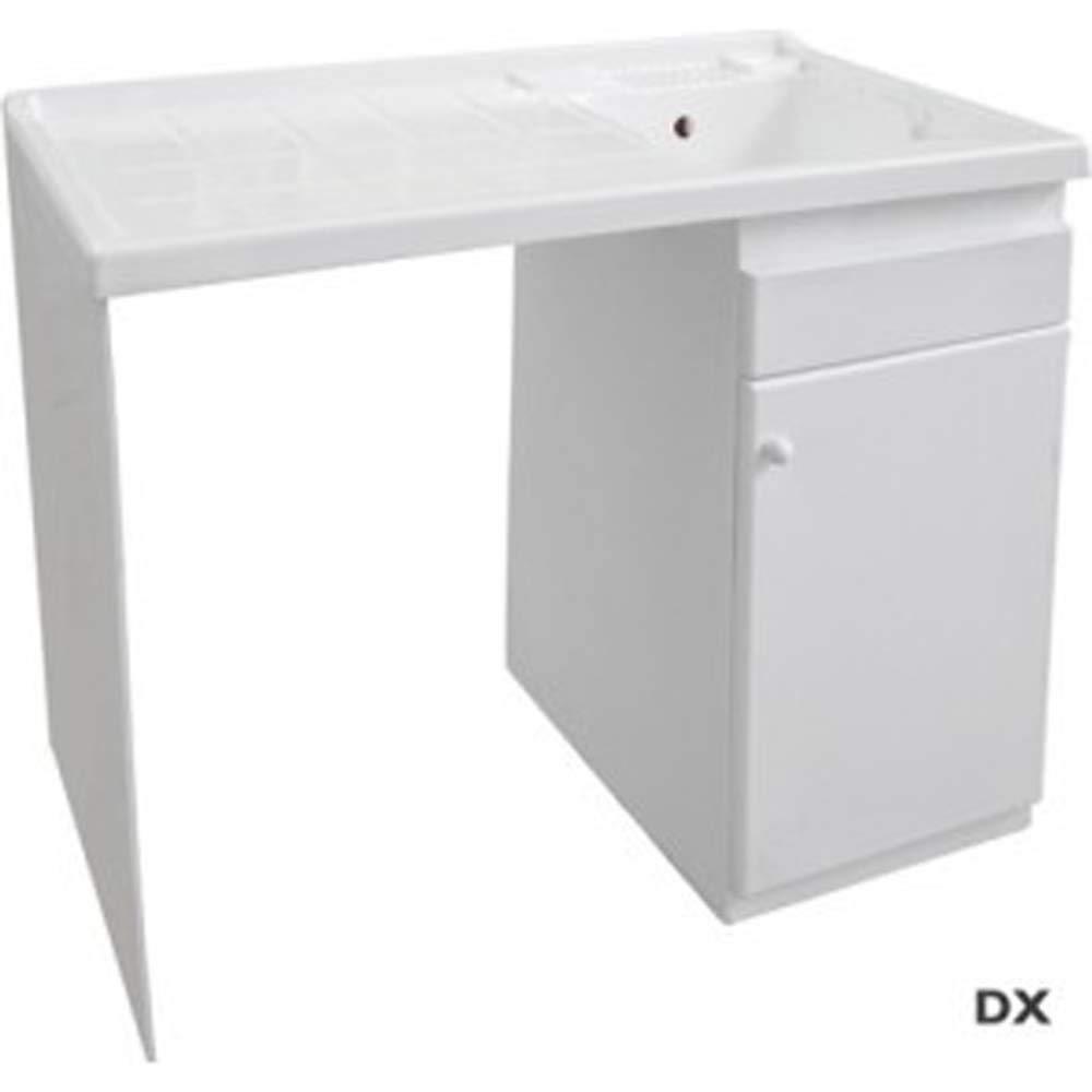 LAVADO 90 cm DX lavadero 60 x resina ba/ñera dianhydro x 106 h
