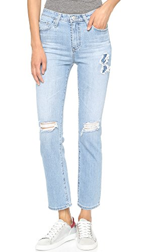 1f20ac92749 AG Women s Alexa Chung x AG Sabine High Waisted Straight Leg Jeans free  shipping