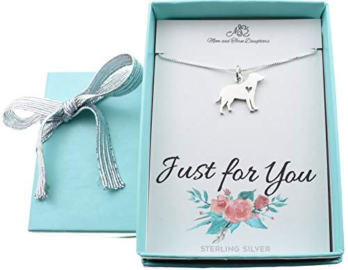 Girls, Teens, Womens Labrador retriever charm necklace in sterling silver. Labrador charm. Labrador necklace. 16 box chain with 2