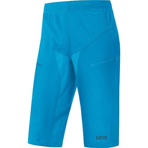 Gore Wear Men's Windproof Mountain Bike Shorts, C5 WINDSTOPPER Trail Shorts, Size: XXL, Color Dynamic Cyan, 100011 by Gore Wear