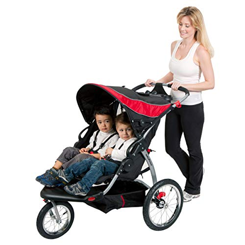 41JKTa6fphL - Baby Trend Expedition Double Jogger, Griffin