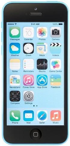 Apple iPhone 5c Unlocked Cellphone, 16GB, Blue (Apple Used Mobile)
