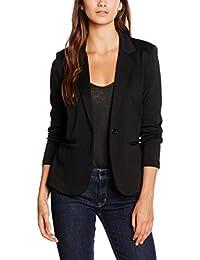 ICHI Women Long Sleeve Casual One Button Suit Blazer Jacket Basic Work Office Coat