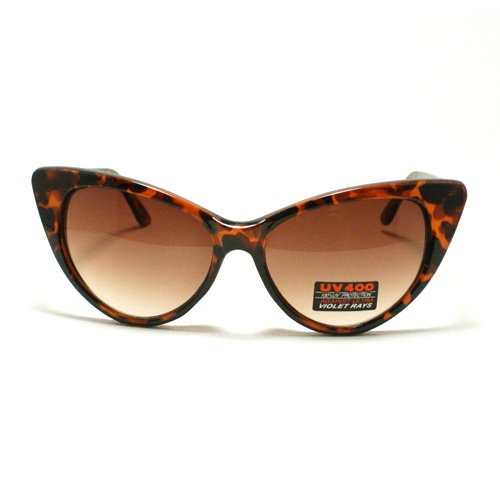 Women's Cat Eye Sunglasses: Turtle Shell By MJ - Shell Sunglasses Turtle