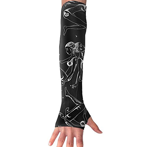 Zodiac Gemini Ugly Sun Protection Armgards Spandex Barder Workout Arm Sleeve (A Pair Of - Day Columbus Macy's