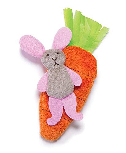 - Petlinks Hide & Peek Catnip Crinkle Cat Toy, Bunny & Carrot