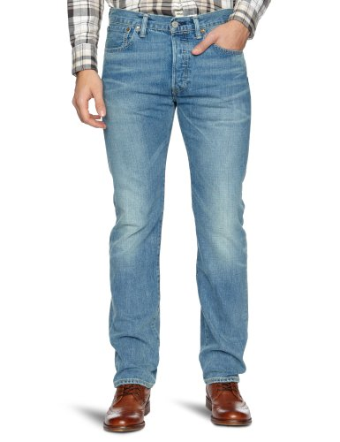 Uomo Levi's 1537 Blu 501 Straight Blues broken Fit Original Jeans Stf xqZqTXr