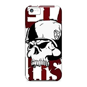 Iphone 5c Case Cover With Shock Absorbent Protective Case