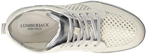 Lumberjack Grey M0151 Femme Marisa Gris Hautes Lt Baskets Silver rawr1BqOn