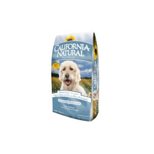 California Natural Chicken Brown Rice Senior Formula Dry Dog Food