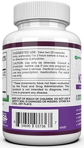 Rapid Burn Keto Fast Diet Pills - Metabolism Booster Exogenous Ketones for a Ketogenic Diet 5