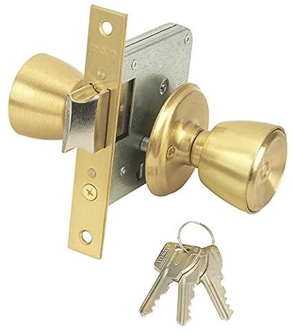 Mcm 1562-3-3-60 - Pomo cerradura entrada 60mm laton