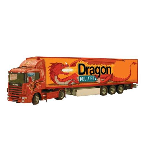 イタレリ 3833 1/24ドラゴントラック&トレイラー (タミヤ・イタレリシリーズ:38833)