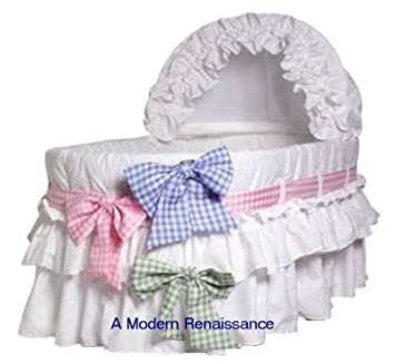 Amazon Com Burlington Baby Bassinet Liner With 3 Colored
