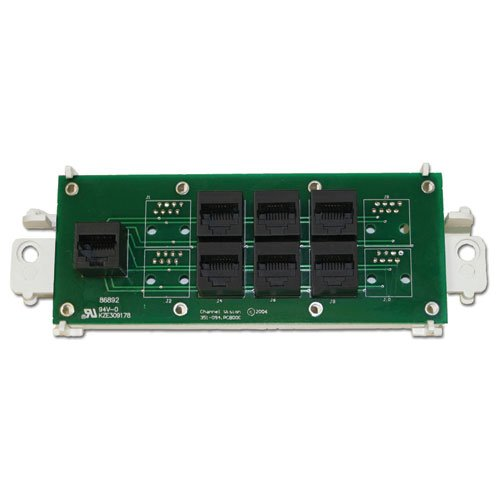 Channel Vision RJ-45 Telephone Distribution Module - Wiring Panel Structured Channel