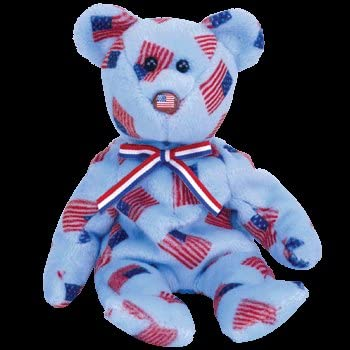 b2d9168be4d TY Beanie Baby - UNION the Bear (w  USA Flag Nose)