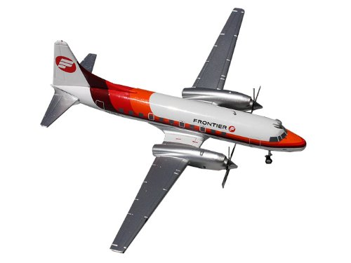 GeminiJets CV-580 Frontier Airplane (Old Colors), 1:200 Scale
