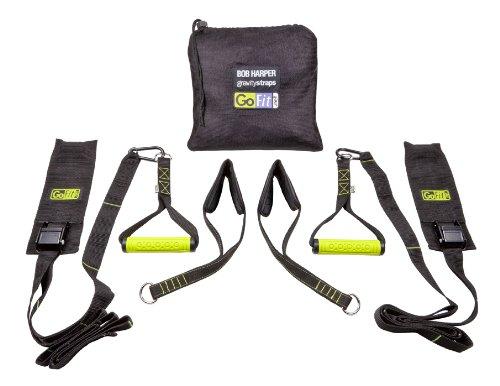 Sangles Gravity GOFIT suspendu Système Body Training Poids avec sac de transport et Bob Harper DVD de formation
