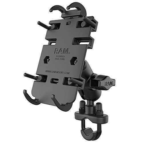 RAM Quick-Grip Phone Mount with Handlebar U-Bolt Base