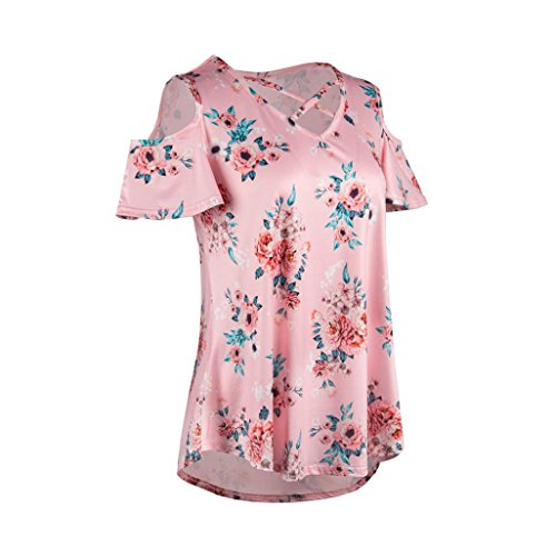 Donna Bekleidung Rosa Multicolore Shirt155 SANFASHION SANFASHION Damen Multicolore Ballerine xXqdXFvP