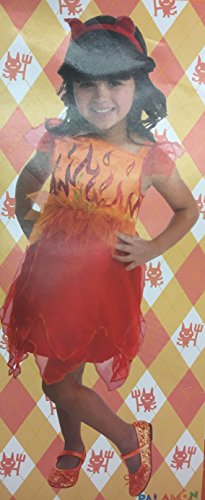 Devil Costume For Baby Girl (Tiny Delights Baby Girls Toddler Red Devil Halloween Costume 3T 4T)