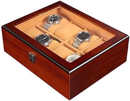 HJ Home Watch Box Cajas de joyería Hombre Mujer Regalo Viaje Flap ...