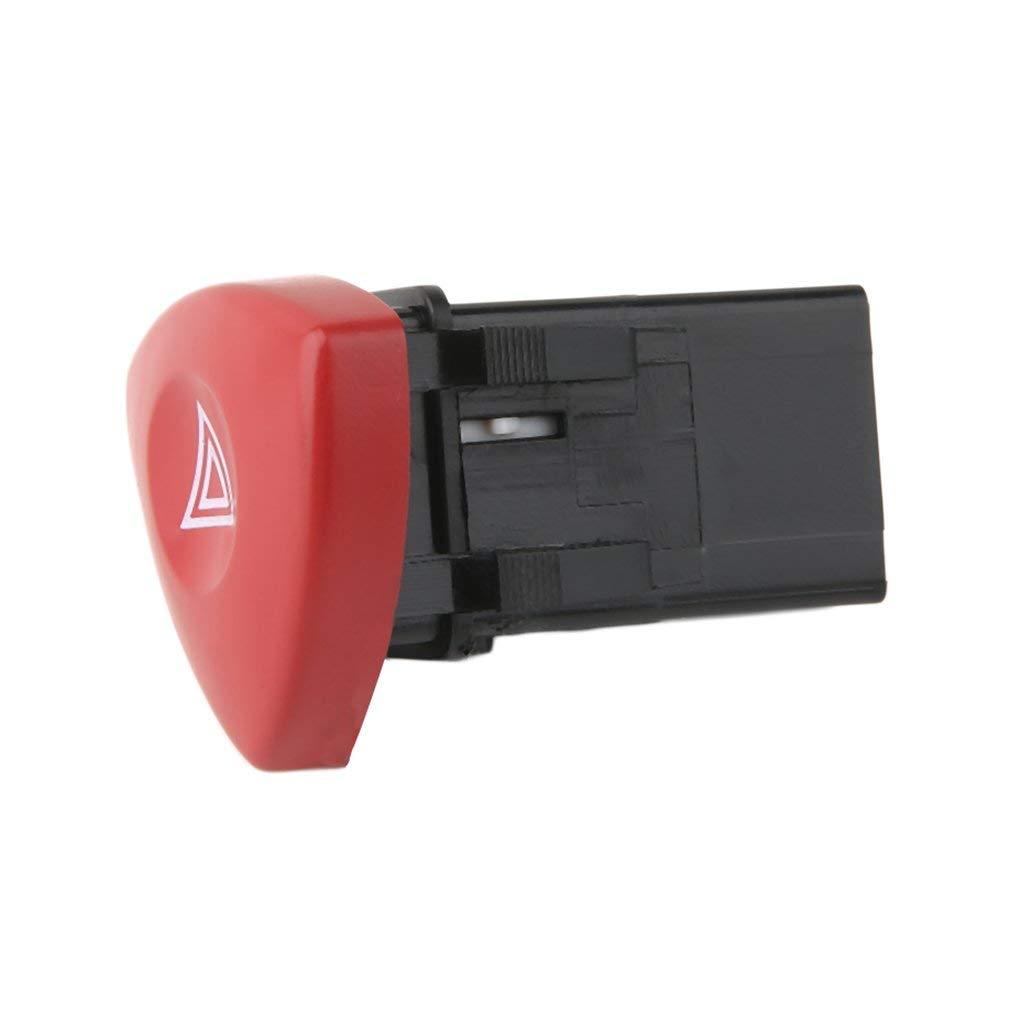 para Renault Laguna Trafic Espace Interruptor de Advertencia de Peligro Bot/ón Rojo Dash