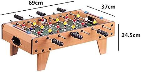 AK De mesa partido de fútbol, interior y exterior de fútbol Familia niños practican deportes diversión juego incluye 18 hombres, 2 pelotas, 2 Goleadores - 69 X 37 X 24,5 cm: Amazon.es: Bricolaje y herramientas