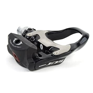 Shimano 105 Pd 5700 Road Bike Pedals Black Sports