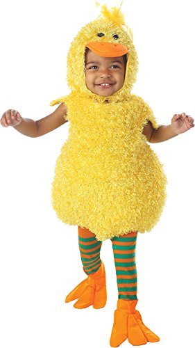 Baby Ducky with Tights Costume: Baby's Size 6-12 Months