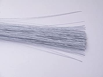 Craftsneed White Floral Wire 28 Gauge - Art & Craft Paddle Wire ...